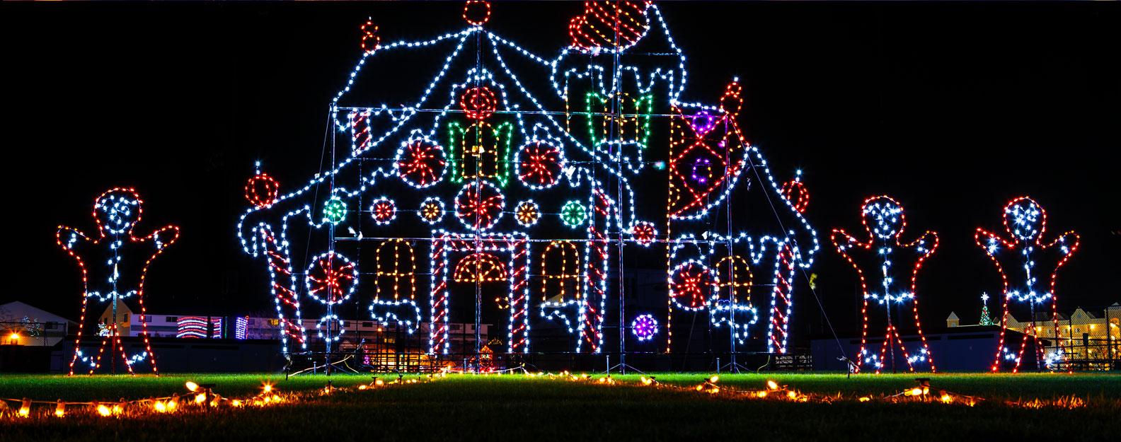 Night of Lights Hayride   Creamy Acres